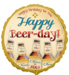 Happy Beer Day Balloon