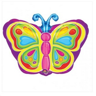 Bright Butterfly Balloon