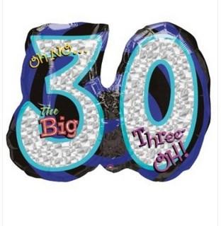 Oh No... 30th Birthday Balloon