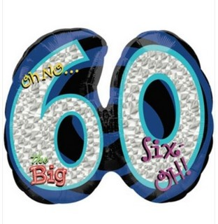 Oh No... 60th Birthday Balloon