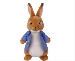 Peter Rabbit TY Soft Toy