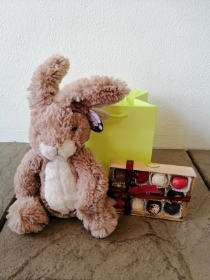 Easter Bunny and Chocolates